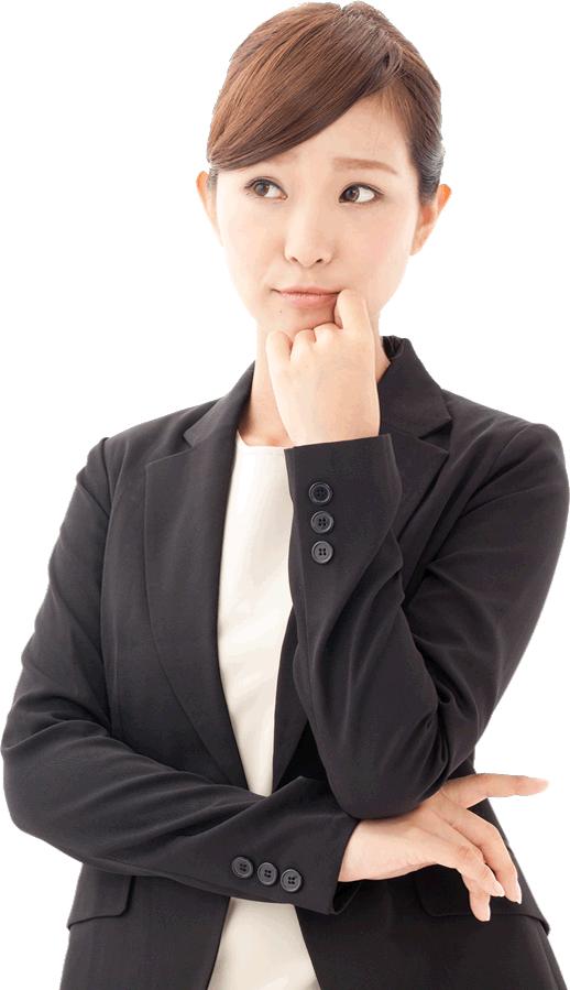 保険代理店は一家に一社、プロの会社を。女性イメージ